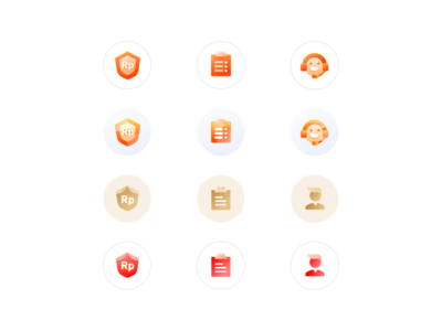 Icons of app