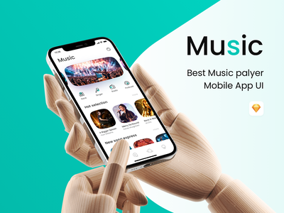 Music 01 播放器 音乐 music player design icon music ui