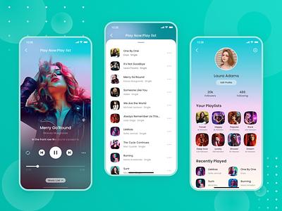 Music 03 music app design ui music player