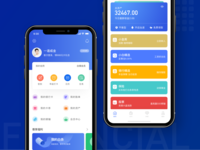 Financial app redesign