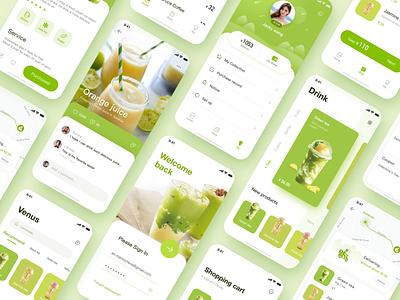 Drink app design design app icon ui