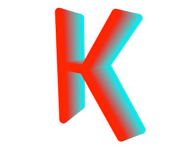 K art code lettering type gradient coding drawbot python
