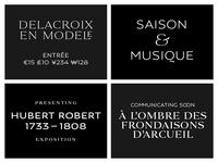 Louvre Serif + Louvre Sans