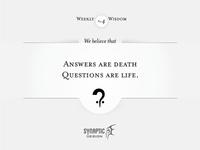 Wisdom on Wednesday #4