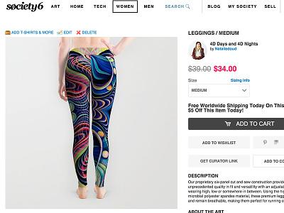 Trippy Leggings Sale sale trippy bright light color flow leggings