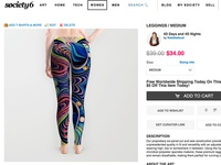 Trippy Leggings Sale