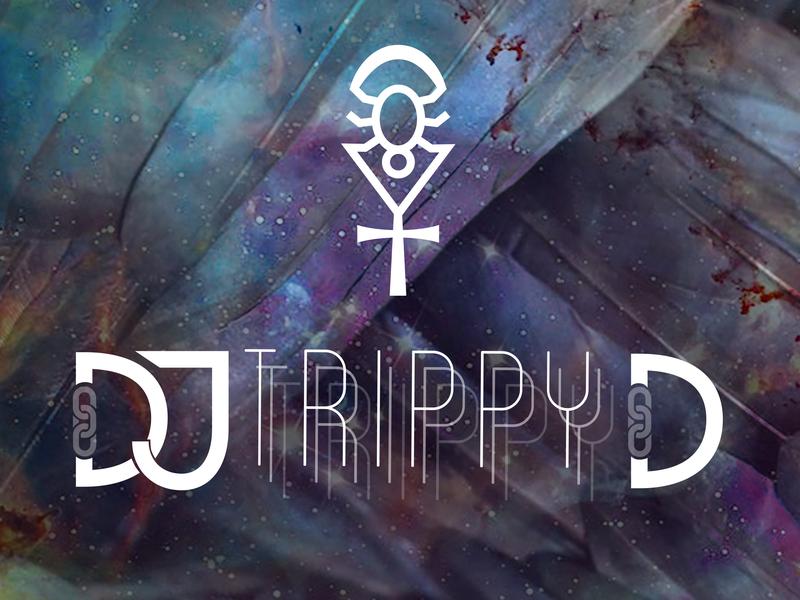 Dj TrippyD music trippyd trippy galaxy mystical raven chain spider ankh dj