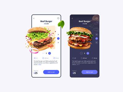 Food Delivery App 2 food app burger delivery app design delivery app delivery food illustration branding ux design app design app ui design ui