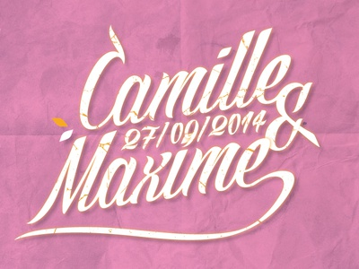 Camille & Maxime