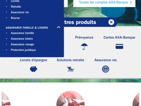 Axa MOBILE absolute homepage {#3}