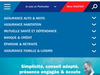Axa MOBILE absolute homepage {#4}