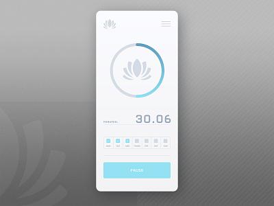 App Design web responsive design brand identity logo illustration branding ux design ui app design app mindfulness meditation
