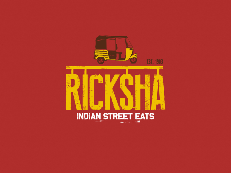 Branding brand design brandidentity typography brand identity illustration logo design branding design ricksha logo food logo street food logo design branding