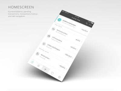 N26 mobile bank banking credit card bank design user interface startup berlin n26 number26 ui app mobile
