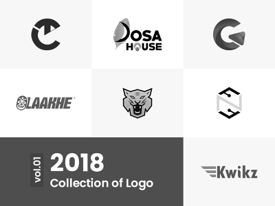 Logo Collection vol.01 | 2018 logo designer logofolio graphicdesigner designer logoconcept logo mark brandlogo 2018 logocollection logotype typography branding type icon logo illustration minimal