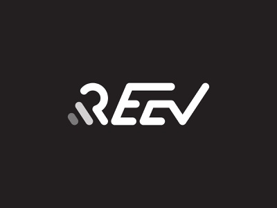 Reev Motion Logo agency elegant clean stroke motiongraphics video minimalist logo branding illustration lettering motion typogaphy logo minimal