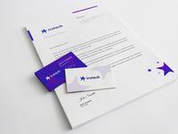 Irutech Letterhead and Business Card Design