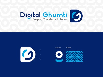 Digital Ghumti Logo Concept - Digital Agency