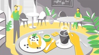 The frame of the video for FoodMap
