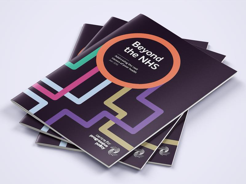 Beyond the NHS report layout design typogaphy print desing
