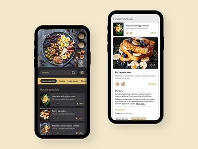 QR Cafe app mobile ui app design uidesign uxdesign ui ux