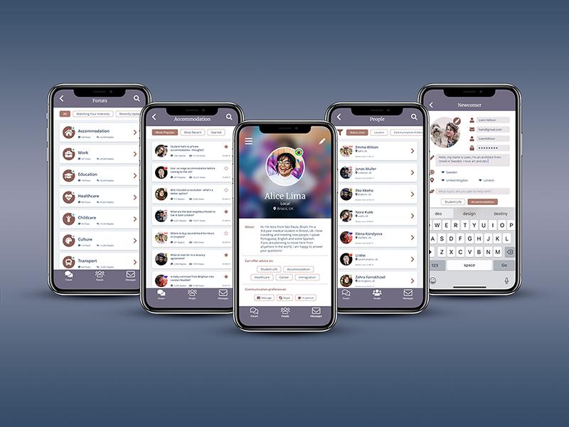 Yuri App: Making Migration Easy migration product design ux design ux ui ui ux app design