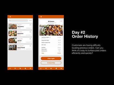 Om Nom: Day 2 ux ui ux design food design daily creative challenge app design adobe xd challenge adobe xd