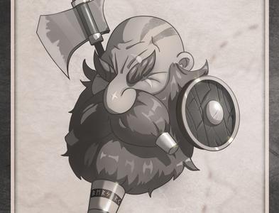 Rimu, The Berserk ⚔️ digital sketch character sketch character illustration 2d illustration character concept character design digital illustration