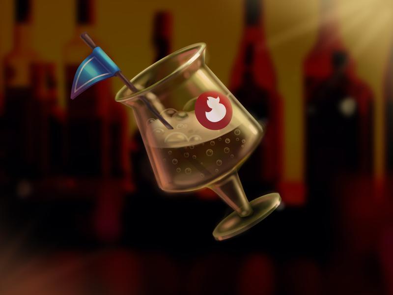One Glass Of Beer For The Punks 🍺 game prop digital sketch game asset game icon game art 2d art digital illustration