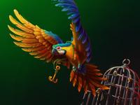 Sea Monster's Parrot 🦜