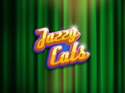 Jazzy Cats [Logo] game design 2d art game art logo design game logo