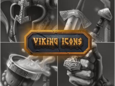 Viking [Icons Set] game icons game asset icon design icon artwork game icon game art digital illustration