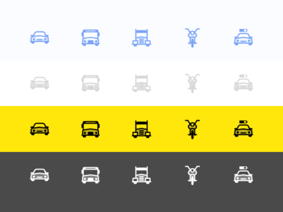 Transport Type Icon