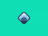 Outdoor badge