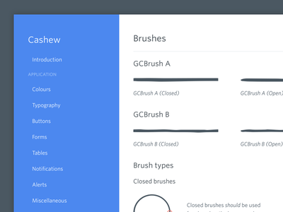 Styleguide site illustration guide style