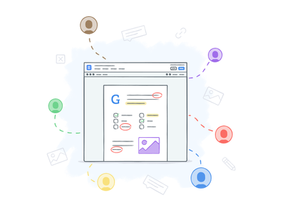 Content mayhem google browser content illustration
