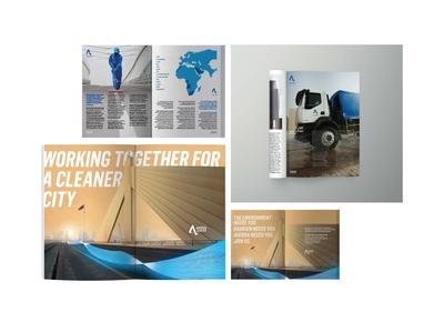 Magazine Ad bahrein ksa map vector blue and white design adobe illustrator photoshop typogaphy infographic artworks page layout magazine ad magazine design
