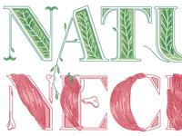 Normal / Natural / Necessary