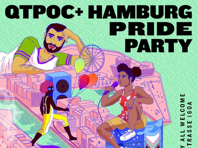 Qpoc Party Poster