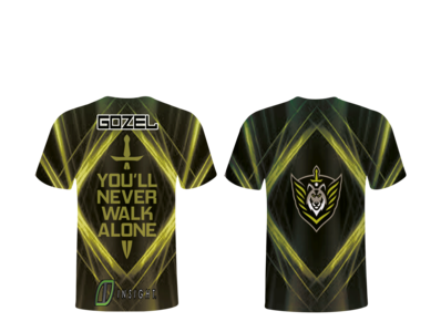 gaming jersey sample