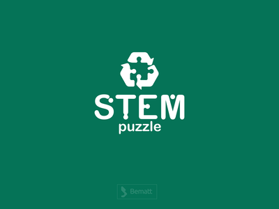 STEM Puzzle Logo Design