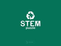 STEM Puzzle Logo Design