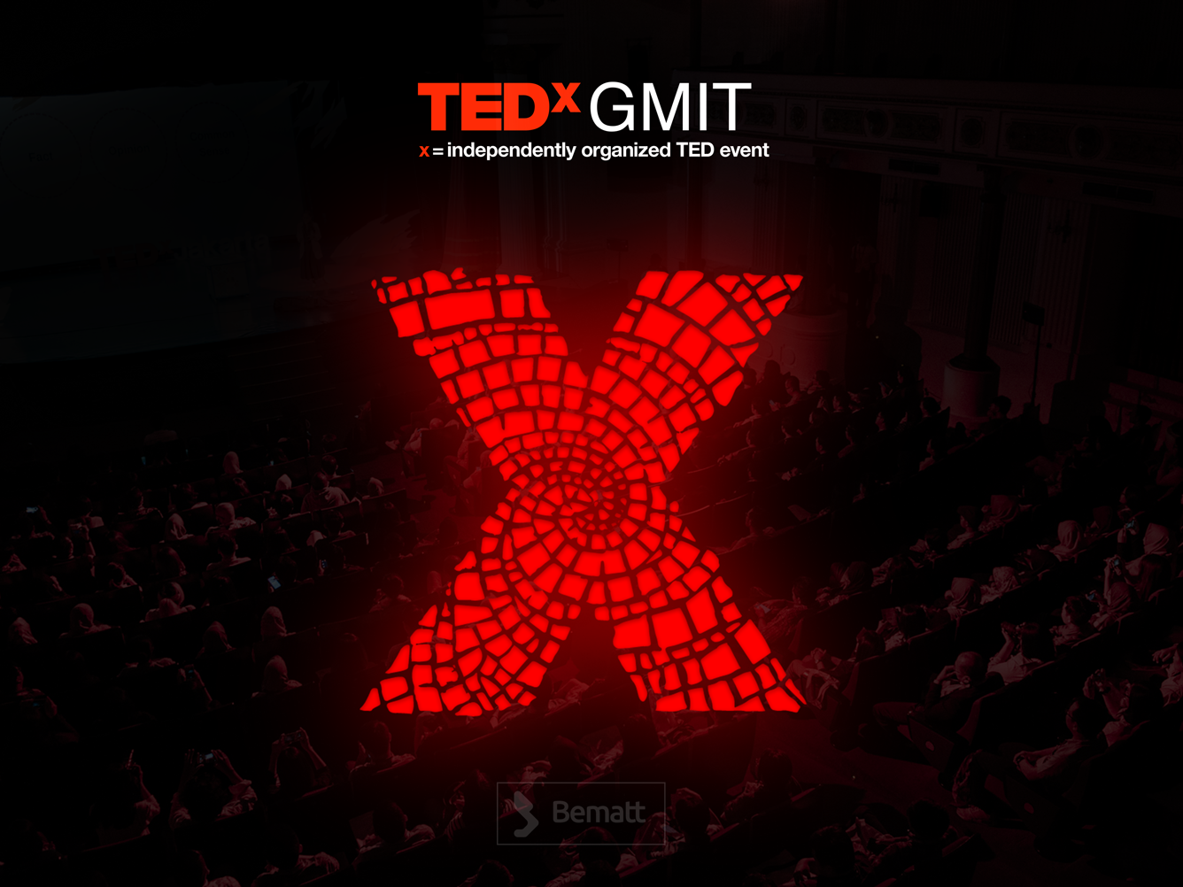 TEDxGMIT Branding lettering minimal vector typography identity illustrator ux ui logo illustration graphic design brandbook design branding