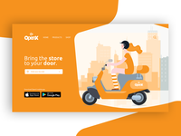 OpenX - Landing Page