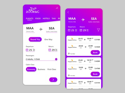 Flight Booking