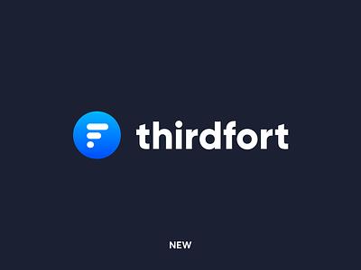 Thirdfort Logo product design design brand strategy branding logo design inspiration brand identity inspiration brand dustproof