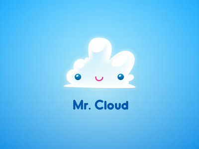 Mr Cloud Logo web corporate identity brand agency illustration digital creativity graphic design digital design studio brand strategy branding design thinking inspiration design inspiration design creative brand identity brand logo dustproof