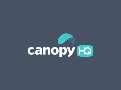 Canopy HQ Logo corporate identity corporate branding brand agency digital inspiration product design design thinking brand strategy studio digital design branding product design inspiration design creativity graphic design brand identity brand logo dustproof