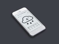 Weather app light