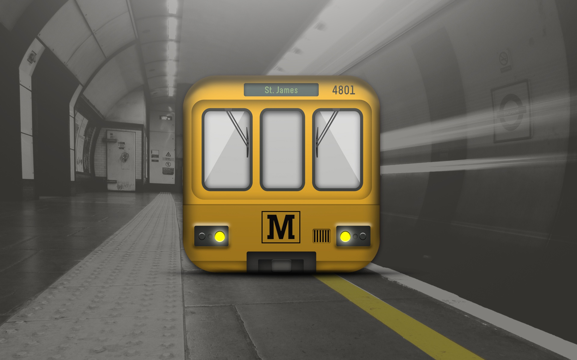 Metro icon x2